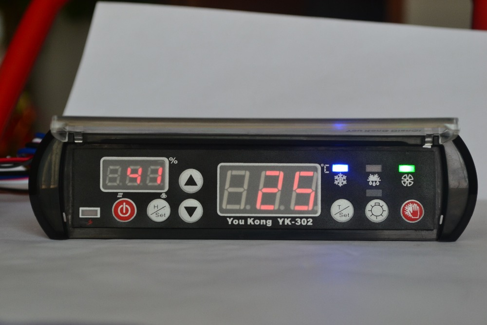 YK-302 digital thermostat temperature and humidity controller for refrigerator and egg incubator