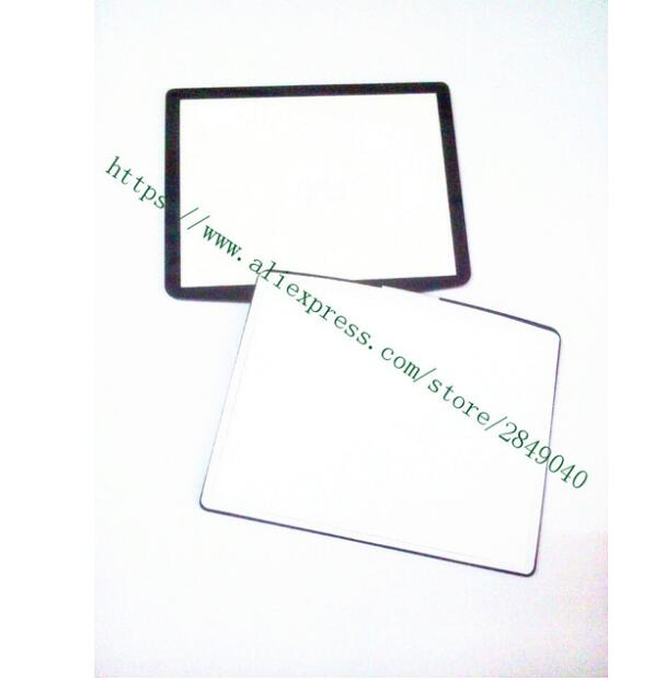 New Digital Camera Top Outer LCD Display Window Glass