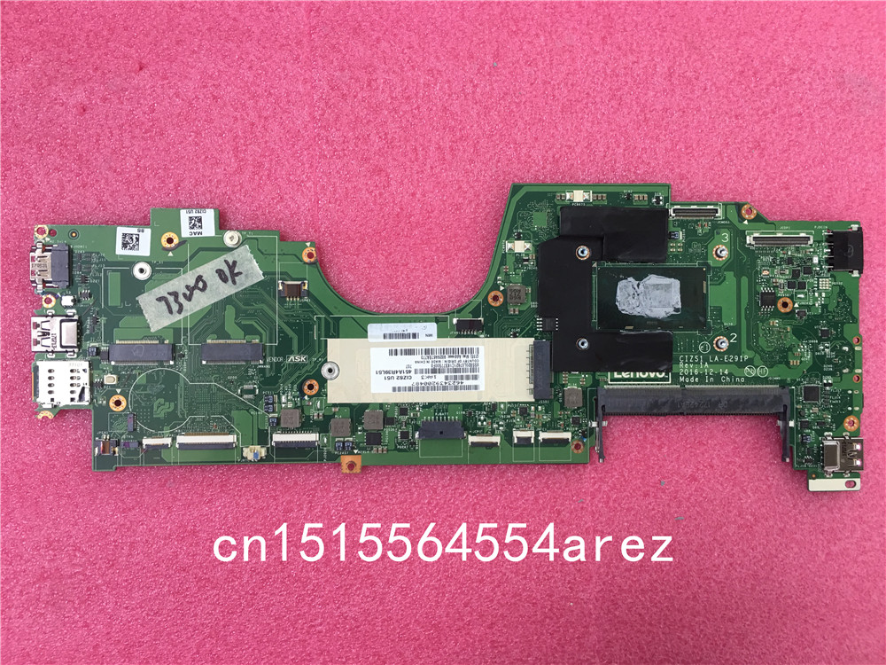 D'origine Ordinateur Portable Lenovo ThinkPad DE YOGA 370 Carte Mère Carte Mère i5-7300U VPRO GAGNER 01HY157