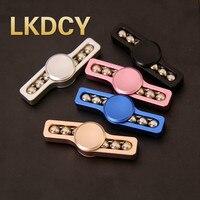 LKDCY High Quality Vorso EDC Hand Spinner Adult Reduce Pressure Toys Torqbar Brass Material Fidget Spinner