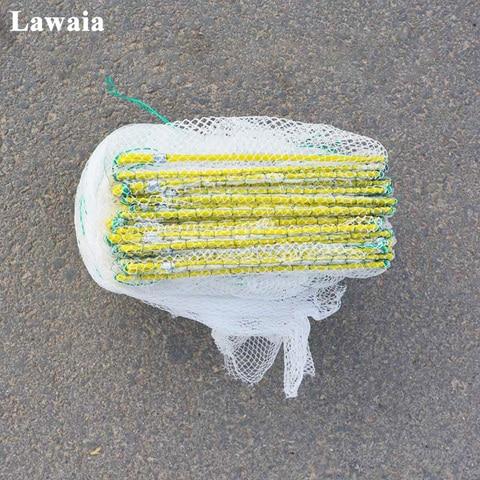 accessores de pesca de nylon malha guelra de peixe net