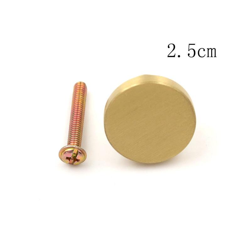 25/28/33 Mm Mode Messing Tür Knob Cabinet Kommode Schublade Schrank Schrank Pull Griff Für Möbel Holz box