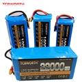 RC Batteria Lipo 6S 22.2V 22000mAh 25C Per RC Auto Aereo Giocattolo Serbatoio Modelli 6s RC li-Po battery Potere del Hight