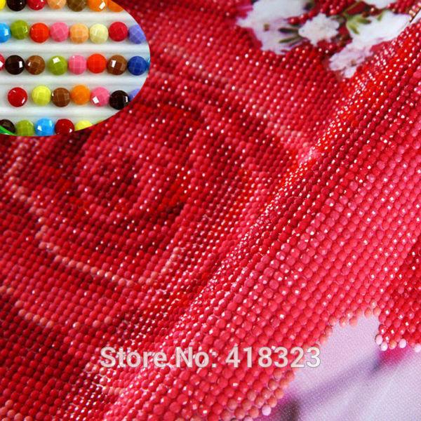 new arrival 4 pcs set Magnolia flower Diy diamond painting round diamond drill diamond embroidery cross-stitch ED180