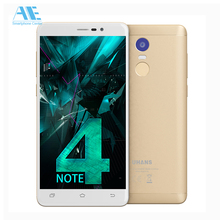 New UHANS Note 4 MT6737 Quad Core Android 7.0 Smartphone 5.5 Inch 3G RAM 32G ROM Cell Phones 4000 mAh Fingerprint Mobile Phone