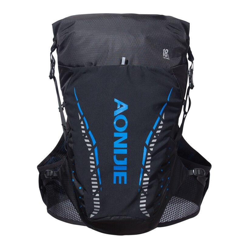 AONIJIE 18L sac à dos d'hydratation léger extérieur sac à dos gilet pour 2L vessie d'eau randonnée Camping course Marathon - 3