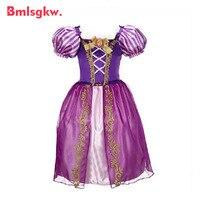 Girls Dress Children Snow White Princess Dresses Rapunzel Aurora Kids Party Halloween Costume Clothes Christmas Dresses