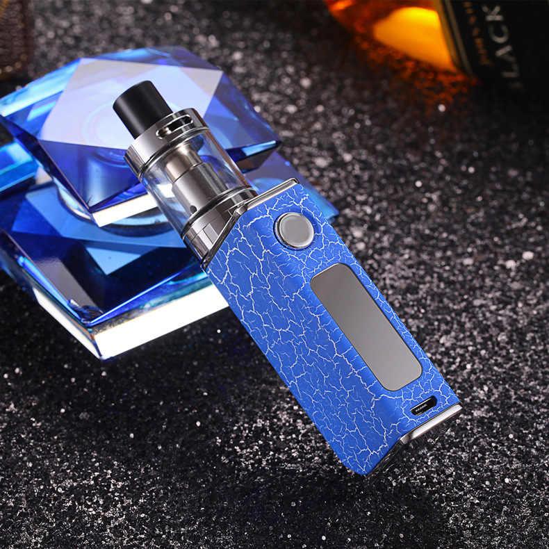 調節可能なワット数 80 ワット電子タバコ改造キット 1500 mah P9 電子タバコボックス mod led ライトディスプレイ電子 vaper ペン