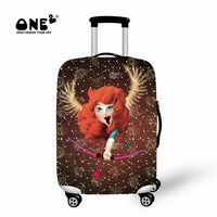 ONE2 2017 New Design luggage cover about Sagittarius of Twelve Constellations suit in 22,24,26,28,30 inches suitcase for teenage