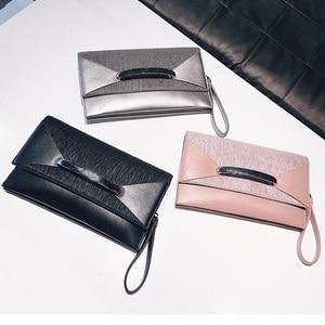 Image 3 - Клатч конверт для женщин, роскошные кожаные сумочки, вечерний клатч на день рождения для женщин, Дамский саквояж на плечо, кошелек