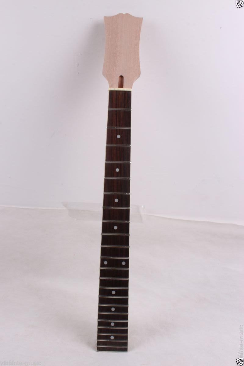 New electric guitar Neck solid wood 22 fret 24.75 inch Paddle neck 1pcs black guitar neck electric guitar neck solid wood 25 5 22 fret new 008
