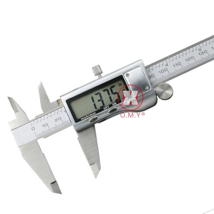 "6/"" Digital Vernier Caliper 150mm Stainless Steel Micrometer Electronic Gauge RLT"