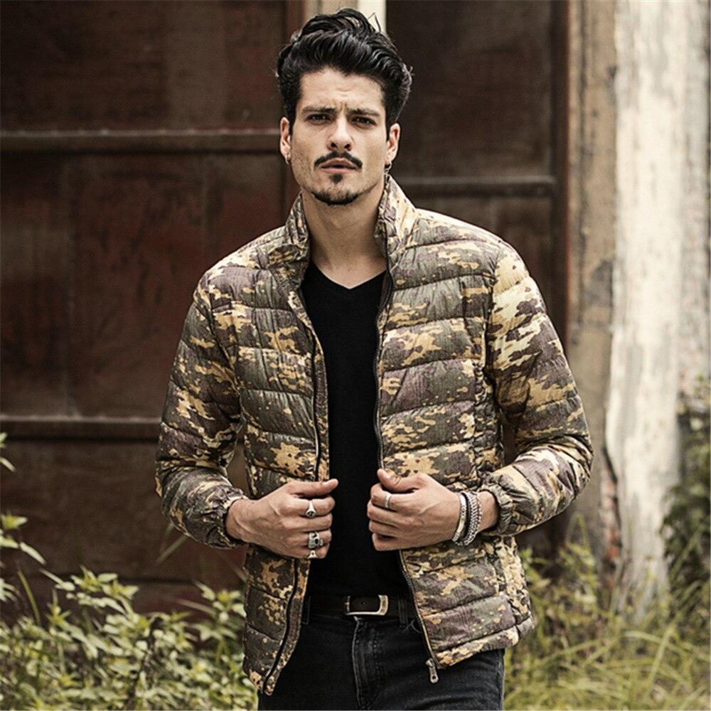 Camouflage Duck Down Jackets 2015 New Designer Brand Fashion ...