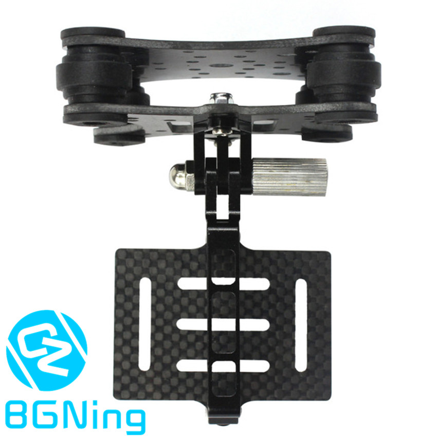 Carbon Fiber Camera Gimbal Mount FPV Shockproof Damping PTZ for DJI Phantom Drone Quadcopter Multicopter for Gopro Hero 3 3+ 4 image