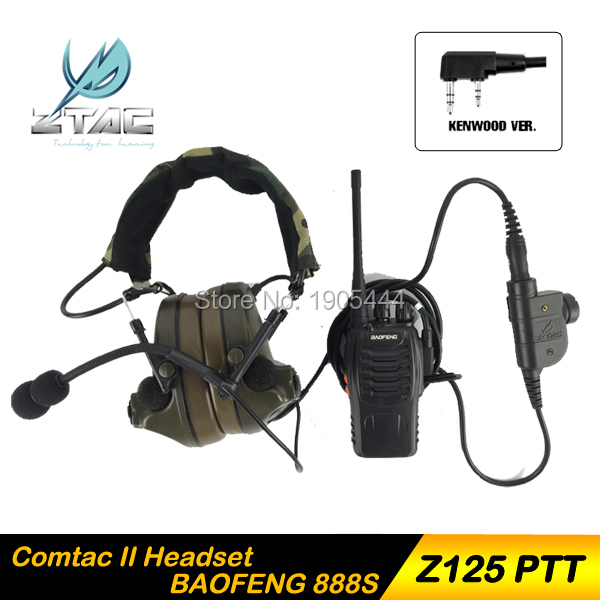 Z 041 Auricular Elemento Z-Tactical Comtac II Airsoft Paintball - Caza - foto 2