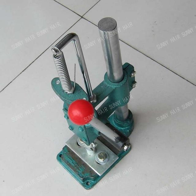 Hand Made Tip Machine U V Flat Tip Hair Extensions Make Machine Tip