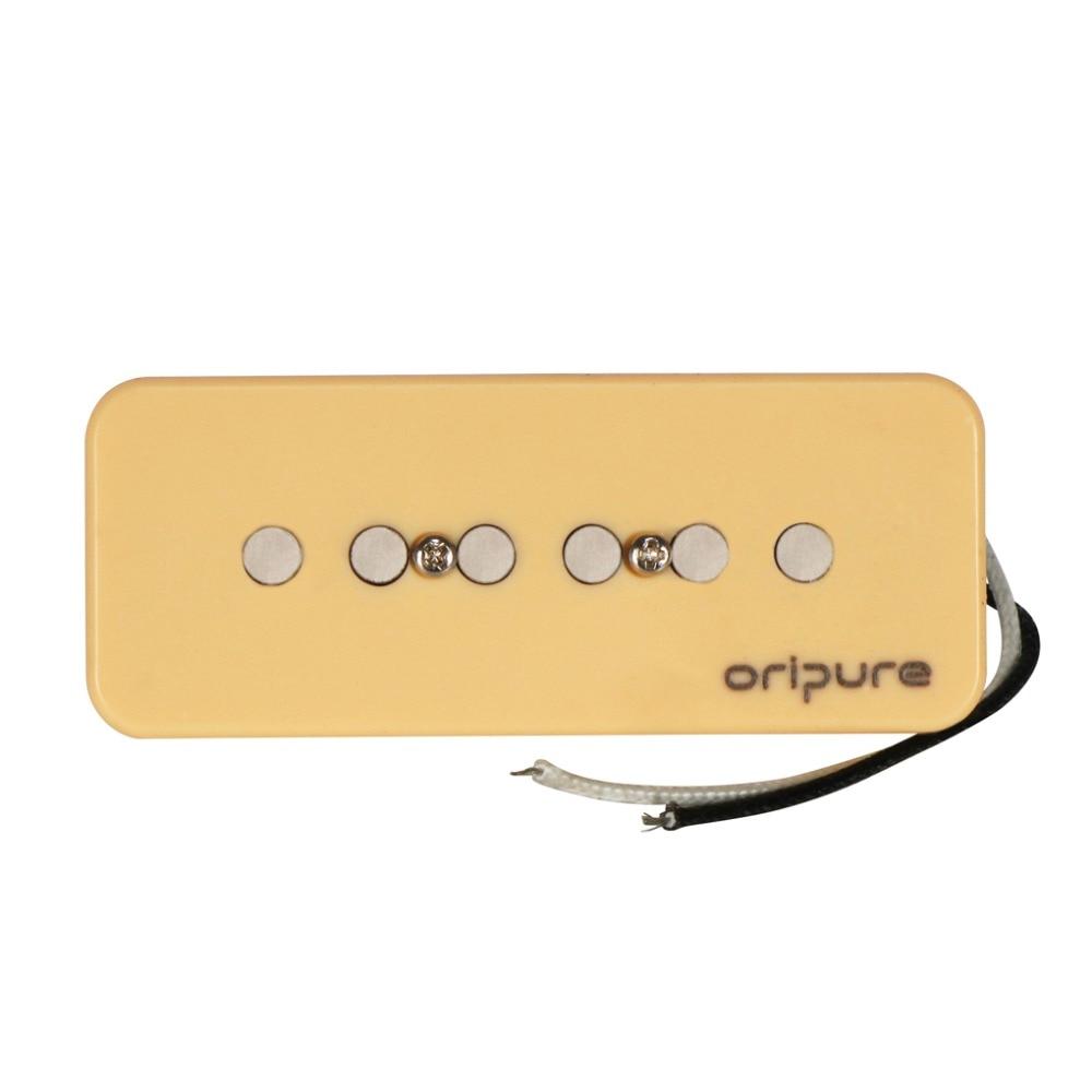 OriPure Alnico 5 P 90 P90 odbioru kostka mydła gryf gitary elektrycznej odbioru krem do P90 akcesoria gitarowe, słodki dźwięk, w Części i akcesoria do gitar od Sport i rozrywka na AliExpress - 11.11_Double 11Singles' Day 1