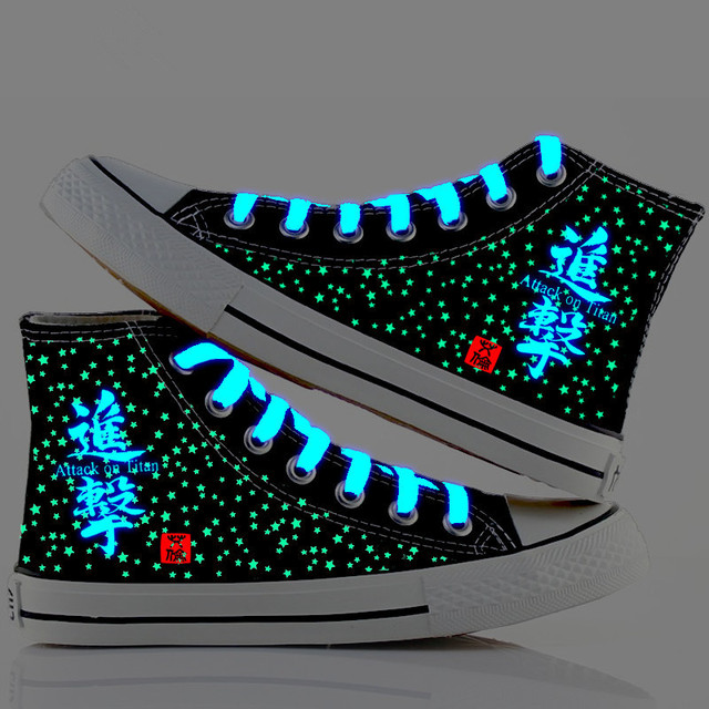 Attack On Titan Luminous High-Top Shoes (2 Design)