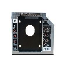 DM HDD Caddy DW127S 12,7 мм алюминиевая Optibay SATA 3,0 коробка для жесткого диска корпус DVD адаптер 2,5 SSD 2 ТБ для ноутбука CD-ROM