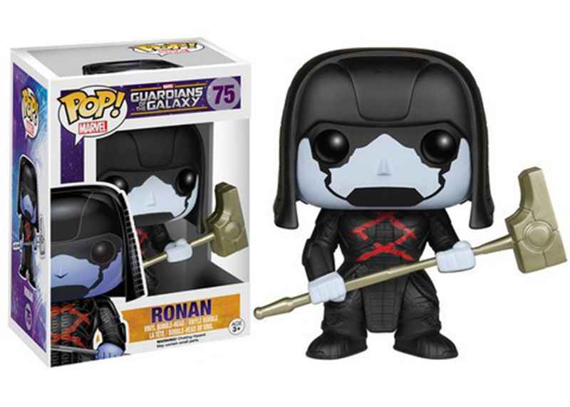 Official Funko pop Marvel's Movies: GOTG - Ronan ASIA Vinyl Action Figure Collectible Model Toy with Original box