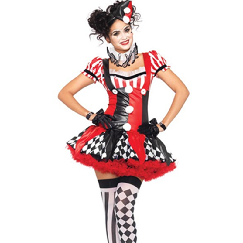 Lots Of Themed Parties Particularly Circus and Halloween Fun and Classic Outfit Harlequin Clown Fancy Dress Costumes L15204-in Sexy Costumes from Novelty ...  sc 1 st  AliExpress.com & Lots Of Themed Parties Particularly Circus and Halloween Fun and ...