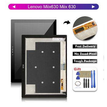 "AAA Quality 12.3"" LCD For Lenovo Miix630 Miix 630 LCD Display Digitizer Touch Screen Glass Panel Assembly + Free Tools"