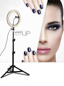 Tycipy Ring-Light Tripod Makeup Studio Led Selfie Smartphone Photography 5500K 24W