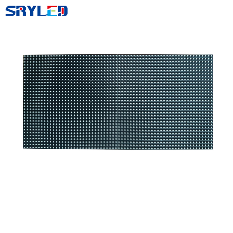 SRY P4 Outdoor LED Module Full Color RGB 256*128MM 6500 Nits High Brightness