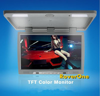 RoverOne 22'' Digital Wide Screen Bus Coach TV Roof Mount Car LCD Monitor Flip Down Screen Overhead Multimedia Video AD Player