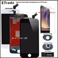 100% pixel no muertos lg 1:1 mejor calidad lcd para iphone 6 s 6 Más 6G LCD Táctil Digitalizador Pantalla Con 3D Montar 4.7 pulgadas