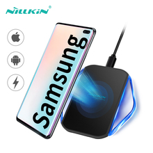 Nillkin Fast Wireless Charger For Samsung Galaxy S7 S6 Edge USB Chargers Pad For Samsung s8 s9 Plus Note 8 9 Qi Wireless Charger стоимость