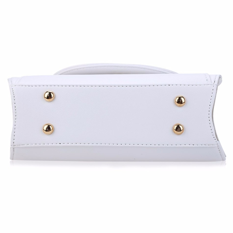 dm prime fênix parte de baixo da bolsa branca