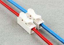 50 шт./лот нажмите тип провода разъема 2 P 3 P встык Клеммные колодки универсальный разъем для светодиодных ламп