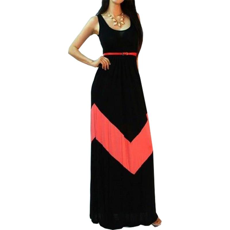 3a1866df0d90 Europe America stripe summer dress thin long vestido sleeveless drap vest  dresses clothing vestidos LBD8697