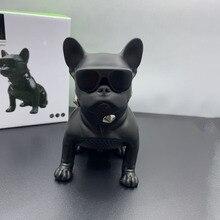 все цены на Cartoon Wireless Bluetooth Speaker Mini Full Body Bulldog Bluetooth Support U Disk TF Card Speaker онлайн