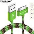 Voxlink 30 pin para o iphone 4s usb original cabo usb charing rápido fio de dados cabo 1 m/2 m/3 m para iphone 4 4s iphone 3gs ipad 2 3
