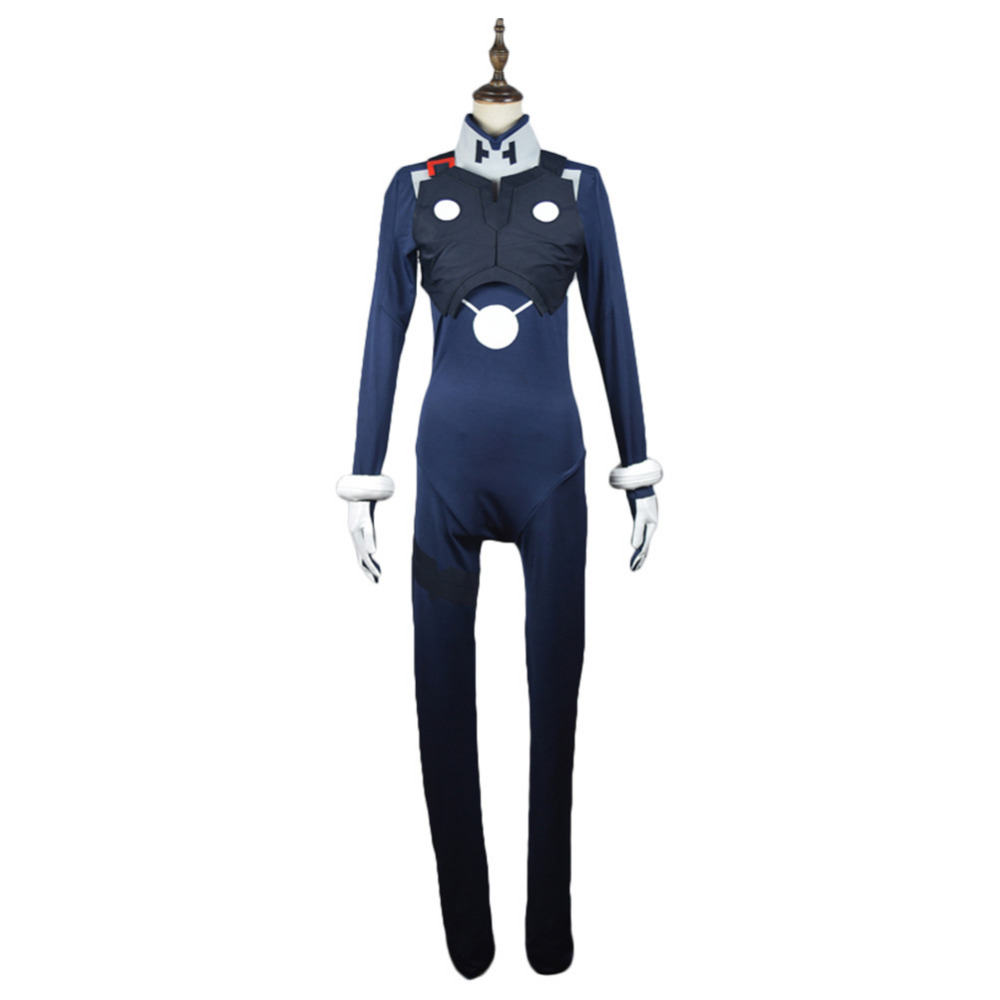 DARLING in the FRANXX HIRO Code 016 Cosplay Costume Pilot Jumpsuit Outfit Halloween Carnival Costumes