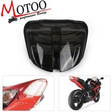 Motoo motocicleta luz da cauda led sinal integrado para suzuki GSX R600 gsxr600 gsxr 600 06 07 k6 2006 2007