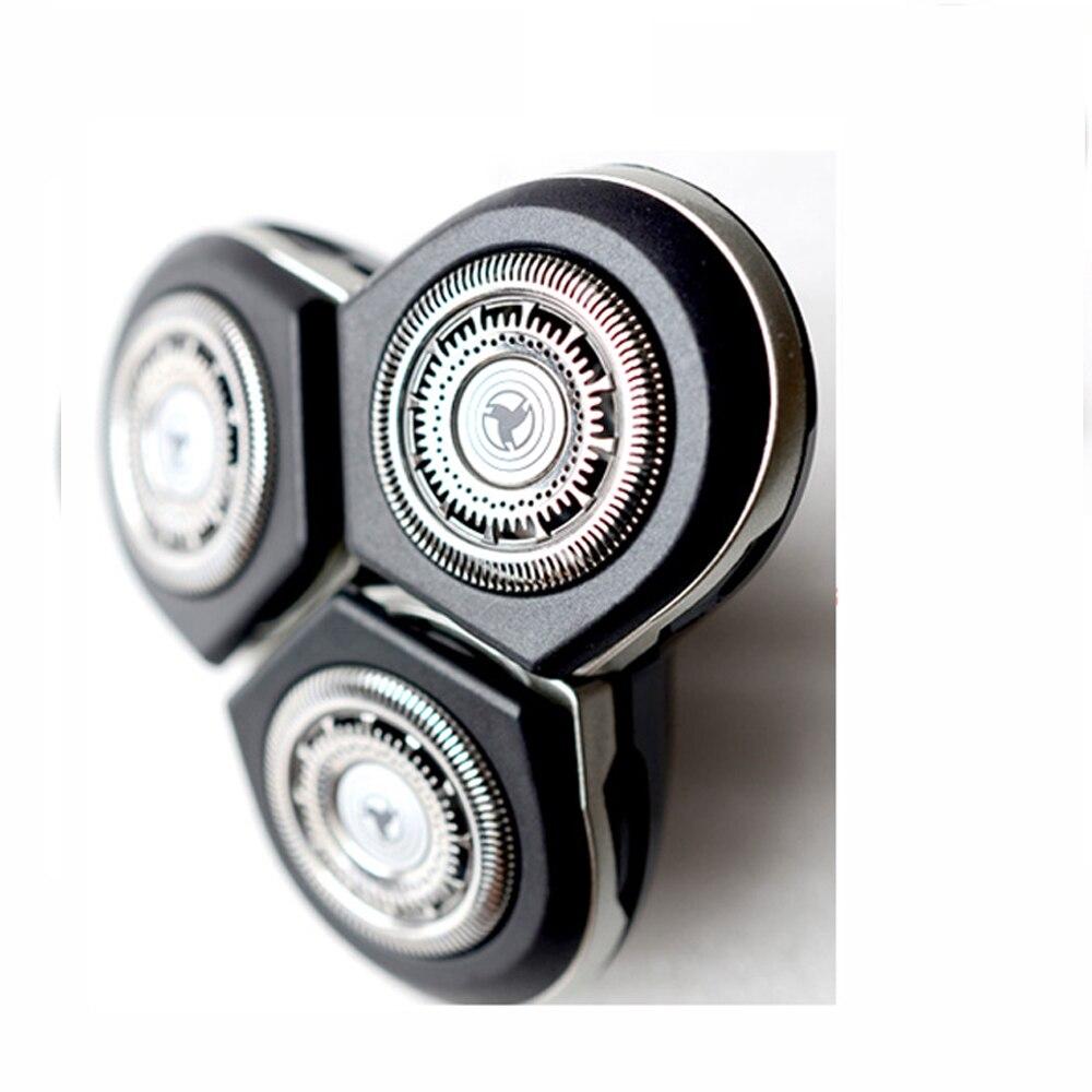 Cabeças barbeador substituição para Philips RQ12 RQ1275 RQ1250 RQ1260 RQ1280 RQ1290 RQ1250CC RQ1260CC RQ1280CC RQ 1050 1060 1090 Navalha