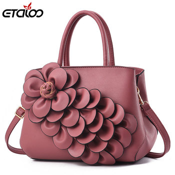 Vintage Fashion Casual Tote Bags Handbags Women Famous Brands Luxury PU Leather Bag Female Shoulder 2019