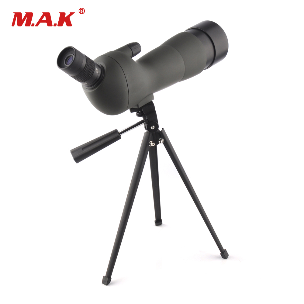 20-60X60 Birdwatching Binoculars Center Focus Waterproof Spotting Scope with Bracket for Archery Target Hunting Shooting waterproof spotting scope 20 60x60 for birdwatching long range target shooting spotting scope with tripod phone adapter