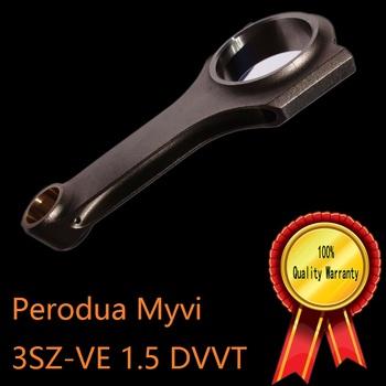 Perodua Myvi 3SZ-VE H belka korbowód 1 5 DVVT Boon daihatsu sirion wysoka wydajność tuning sporty motorowe wyścigi Lagi moc tanie i dobre opinie 4 CYLINDRY MSMOST engine enhancement 4340 1 5L Mechanizm korbowy 2011 to 2016 racing race parts billet forged billet connecting rod