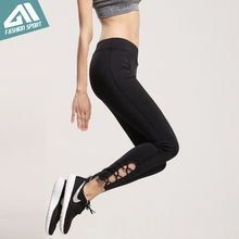 2017 New Aimpact Women Yogo Pants Sexy Fitness Pant Girl Tight Running Pants Workout Pants Female Slim Fitted Sport leggings