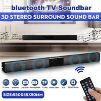 2019 Latest Wireless Bluetooth Soundbar Stereo Speaker TV Home Theater Sound Bar bluetooth speaker
