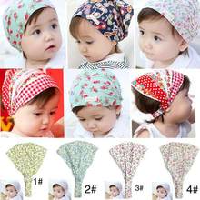 Summer Autumn Baby Hat Girl Boy Cap Children Hats Elastic Cute Toddler Kids Scarf Beanie Outdoors Sun Helmet Cap 0-3years Old(China)