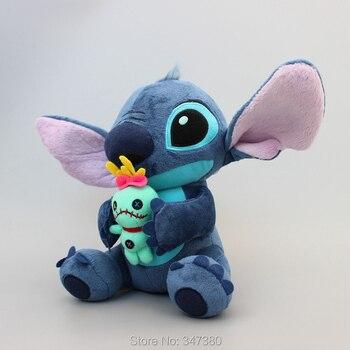5 Pcs/lo Lilo & Stitch Boneca de Brinquedo de Pelúcia Brinquedos para Meninas E Meninos de Pelúcia Recheado Bonito do Ponto Suave Animals9