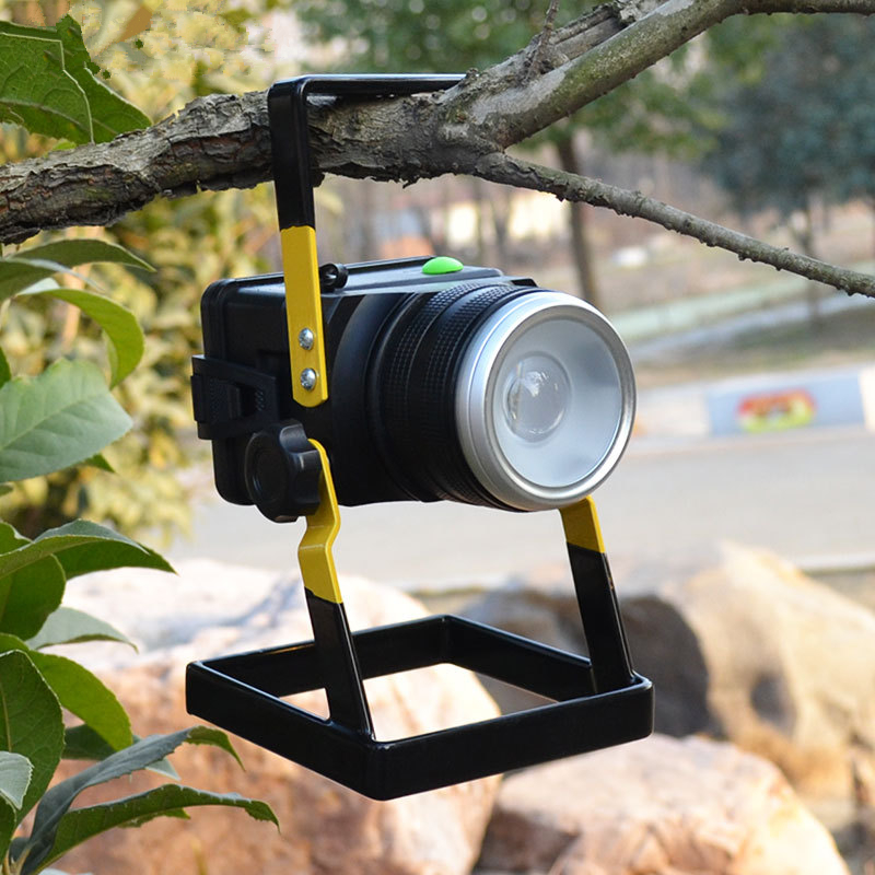Waterproof IP65 3model 30W LED Flood Light Portable Construction Site SpotLight Rechargeable Outdoor Work LED Emergency Light US
