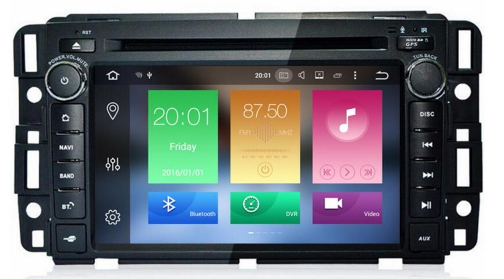 """2018 4G LTE 7""""Android 9.0 Car DVD Player Stereo System FOR GMC Acadia 2009-2011GMC Denali 2007-2012 &GMC Yukon 2007-2012 3G OBD"""