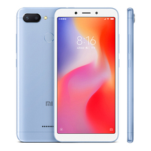 "Global ROM Original Xiaomi Redmi 6 3GB RAM 32GB ROM Mobile Phone Helio P22 Octa Core 12MP+5MP Dual Camera 5.45"" 18:9 Full Screen(Hong Kong,China)"
