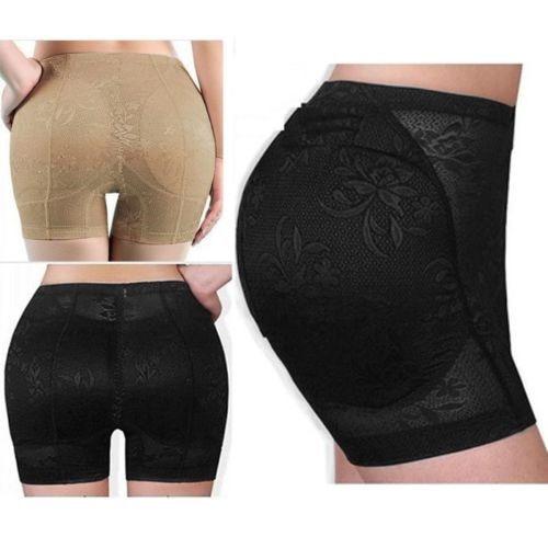 826814f60 Sexy hip padded panties cotton hip up underwear butt enhancer panty plus  size low waist butt